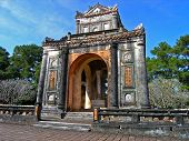 Grab von Tu Duc in Vietnam hue