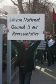 Libyan National Council is our Representative
