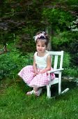 Adorable In Easter Finery