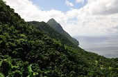 Piton Mountain Range