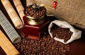 Kaffee-Körner