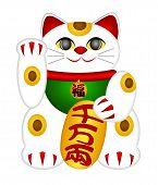 Maneki Neko Beckoning Cat