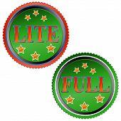 Lite and full symbol