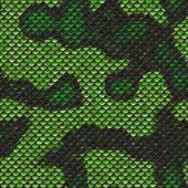 Snake Scale Seamless Pattern Alien Armor Design
