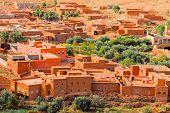 Ait Ben Haddu Marocco. Hdr Image
