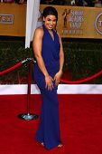 LOS ANGELES - JAN 27:  Jordin Sparks arrives at the 2013 Screen Actor's Guild Awards at the Shrine A