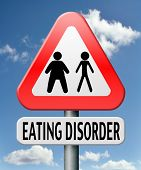 stock photo of anorexic  - eating disorder anorexia obesity obese or too skinny - JPG