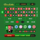 picture of roulette table  - European Roulette Online - JPG