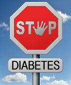 stock photo of diabetes symptoms  - diabetes find causes  and sceen for symptoms of type 1 or 2 prevention by dieting or treath with medication - JPG