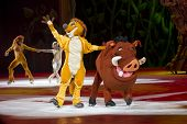 Timon And Pumbaa Waving