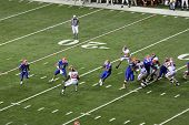 Tebow Hernandez Shuffle Pass Football Uf Gators Alabama Sec Championship