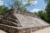 Mayan Game Field In Coba