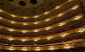 Feldern des Teatro Liceu, barcelona