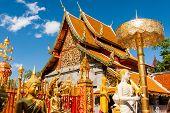 Wat Phra, die Doi Suthep, Chiangmai, Thailand