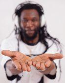 Rast Show His Both Hands