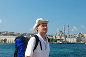 Tourist In Istanbul poster