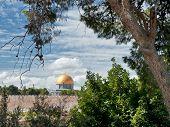 Dome Of The Rock. Jerusalem.