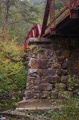 schmale Guage Tressle Eisenbahnbrücke