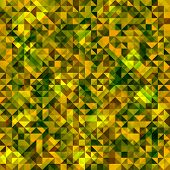 Seamless triangle abstract pattern. Vector illustration.