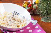 chicken garlic cream pasta