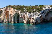 Blue Caves On Zakinthos