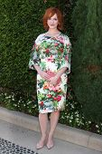 LOS ANGELES - SEP 29:  Christina Hendricks at the Rape Foundation Annual Brunch at Green Acres Estat