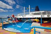 foto of cruise ship  - Kids pool and play area on a cruise ship - JPG