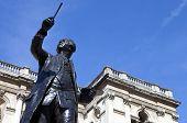 Joshua Reynolds Statue At Burlington House
