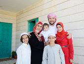 pic of muslim kids  - Lifestyle family people posing - JPG