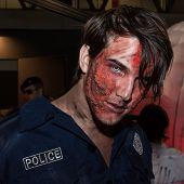 Zombie Makeup At Cartoomics 2014 In Milan, Italy