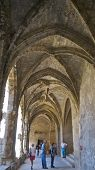 The cloister's at The Archbishop's Palace, Narbonne, France