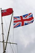 British Navy Flags