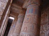 huge columns at egypt temple