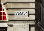 Picadilly Circus Sign