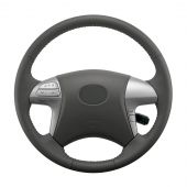 Isolated Car Steering Wheel
