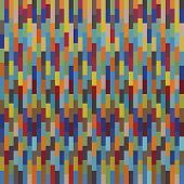 Seamless colorful square pattern mosaics