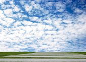 Sky And Cloud For Background