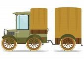 Old Truck And Trailer