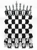Futuristic Chessboard