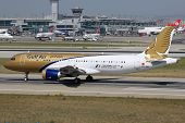 Gulf Air Airbus A320 Istanbul Airport