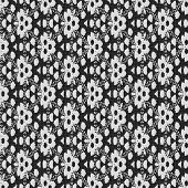 stock photo of lace-curtain  - Curtain lace seamless generated texture or background - JPG