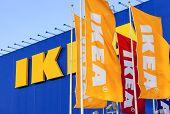Samara, Russia - September 6, 2014: Ikea Samara Store. Ikea Is The World's Largest Furniture Retaile