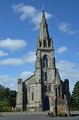 picture of falklands  - An external view of the church in Falkland
