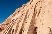 foto of north sudan  - The Great Temple of Abu Simbel on the border of Egypt and Sudan - JPG