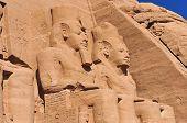 Abu Simbel On The Border Of Egypt And Sudan