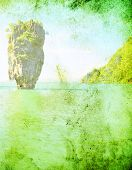 pic of kan  - island in thailand - JPG
