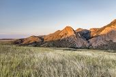 pic of collins  - sunset in mountains  - JPG