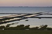 Norderfriedrichskoog (germany) - Sunset Over The North Sea