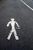 Pedestrian Lane Symbol