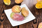image of prickly pears  - Some fresh Prickly Pears  - JPG